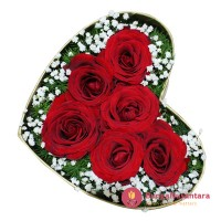 Flower in the box love H