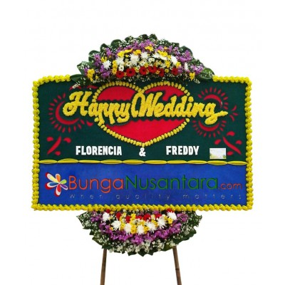 Bunga Papan Special Wedding