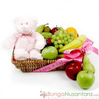 Teddy Bear Fruit 'n Bear Get Well Soon