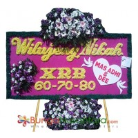 Bunga Papan Wedding Special A 200x100