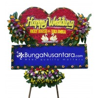 Bunga Papan Special LOVE A (200 x 150)