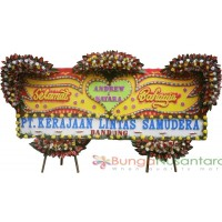 Bunga Papan Wedding Large ( 400 x 150 cm )