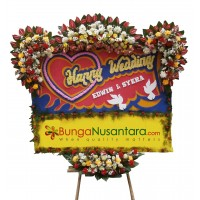 Papan Bunga Wedding SUPER (200 x 150)