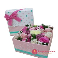 Flower in the box love C